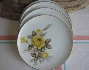 Cotillion bread plates by Sango 4 small plates Vintage Dinnerware and Replacements