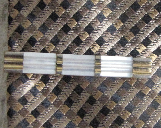 Austrian Tie Clip Gold Toned Vintage Men's Jewelry and Accessories