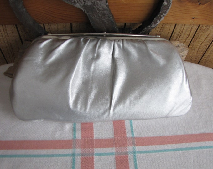 Silver Clutch Purse Vintage Purses and Evening Bags