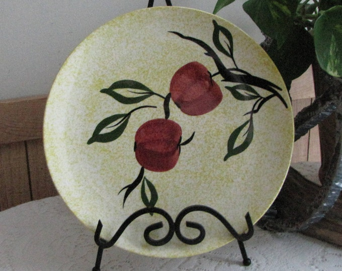 Southern Pottery Blue Ridge Apple Jack Pattern Vintage Farmhouse Rustic Home Décor