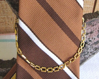 Swank Tie Chain Vintage Men's Jewelry and Accessories