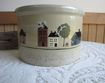 Robinson Ransbottom Pottery Co. Crock Lehigh PA Roseville OH Vintage Kitchens Crockery