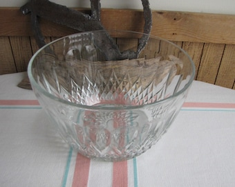 French Crystal Trifle Bowl Vintage Dinnerware and Replacements