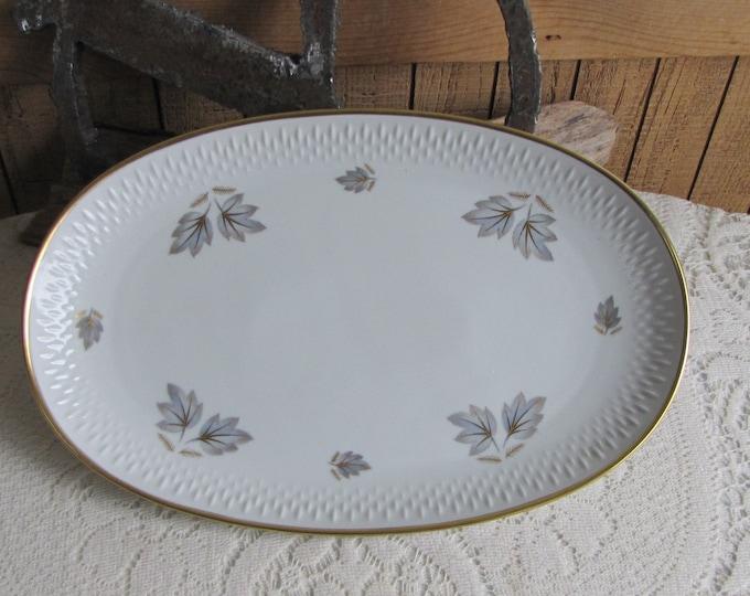 Edelstein Bavarian Platter Coronado Autumn Leaves  Made in Bavaria Germany