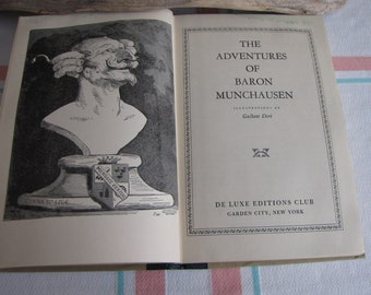 Adventures of Baron Munchausen Antique Books and Literature