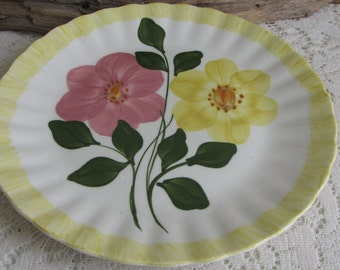 Southern Pottery Blue Ridge Wrinkled Rose Vintage Farmhouse and Rustic Home Décor