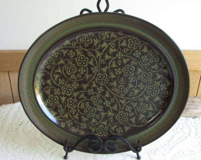 Franciscan Madeira Dinner Platter Vintage Dinnerware and Replacements California Pottery 1967-1983