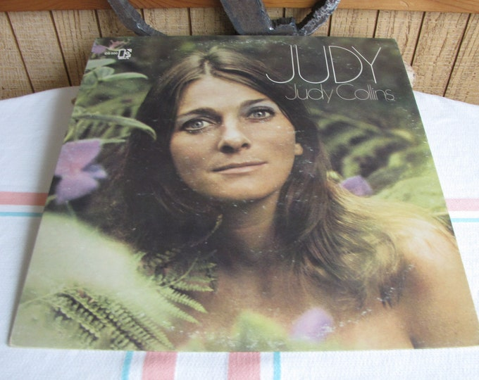 Judy by Judy Collins Album Vintage Music and Vinyl Records 1969