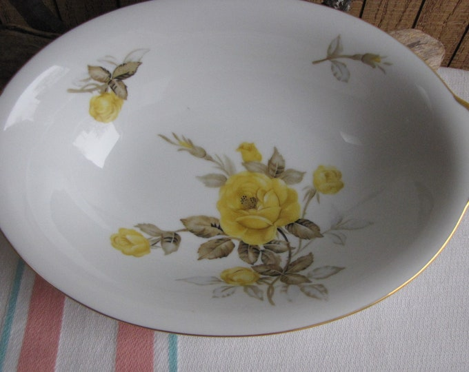 Cotillion Oval Vegetable Bowl Vintage Dinnerware and Replacements by Sango 1950s