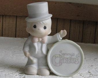Precious Moments Collin from Sammy's Circus Figurine Trumpet 1994 Symbol