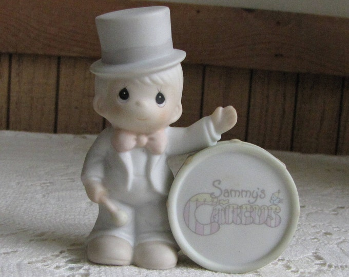 Precious Moments Collin from Sammy's Circus Figurine Trumpet 1994 Symbol