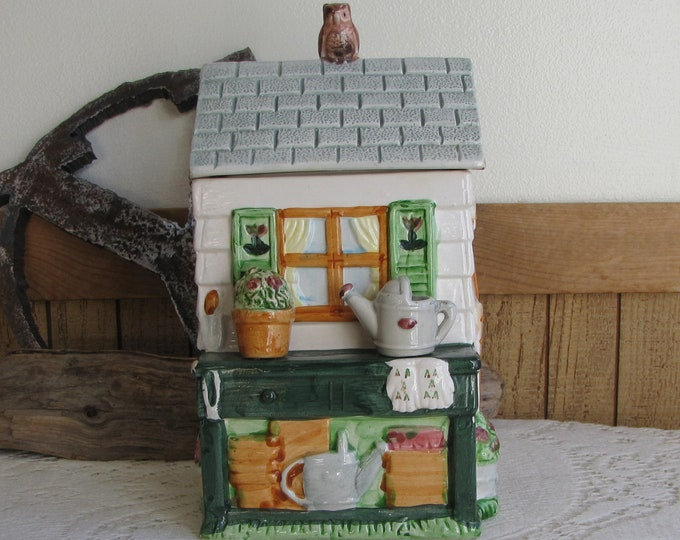 Garden Shed Canister Hearth & Home Designs Vintage Kitchens and Storage