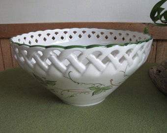 Ceramic bowl Andrea by Sadek Vintage decorative bowls