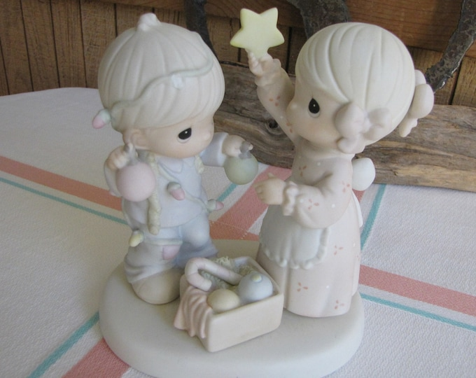 Precious Moments You Are My Favorite Star Figurine Retired Collectible Figurines