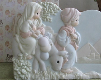 Precious Moments The Nativity Card Holder 1996