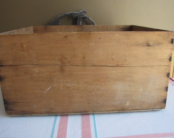 Old Wooden Crate Vintage Boxes and Bins