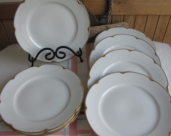 Royal Austrian porcelain luncheon plates set of 8 Antique Dinnerware and Replacements