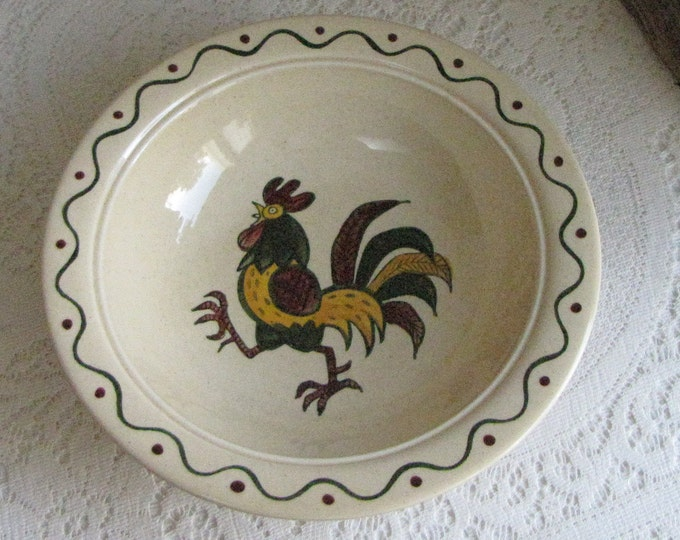 California Provincial vegetable bowl Metlox PoppyTrail 1956-1982 vintage dinnerware and replacements