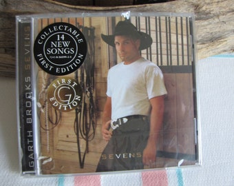 Garth Brooks Sevens CD  First Edition 1997 Vintage Music and Compact Discs