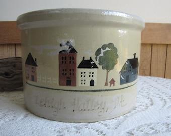 Robinson Ransbottom Pottery Co. Crock Lehigh PA Roseville OH Vintage Kitchens Crockery