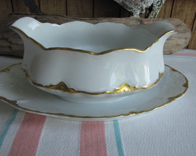Royal Austrian porcelain gravy boat Antique Dinnerware and Replacements