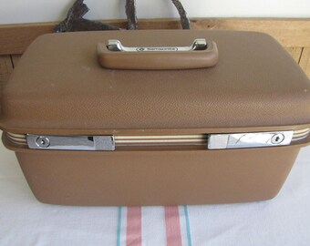 Samsonite Train Case 1970s Vintage Luggage and Travel