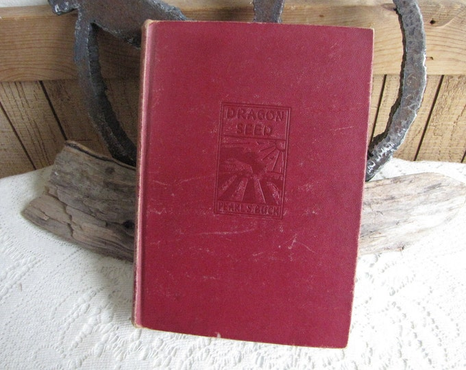 Pearl S. Buck Dragon Seed 1945 Vintage Books and Literature