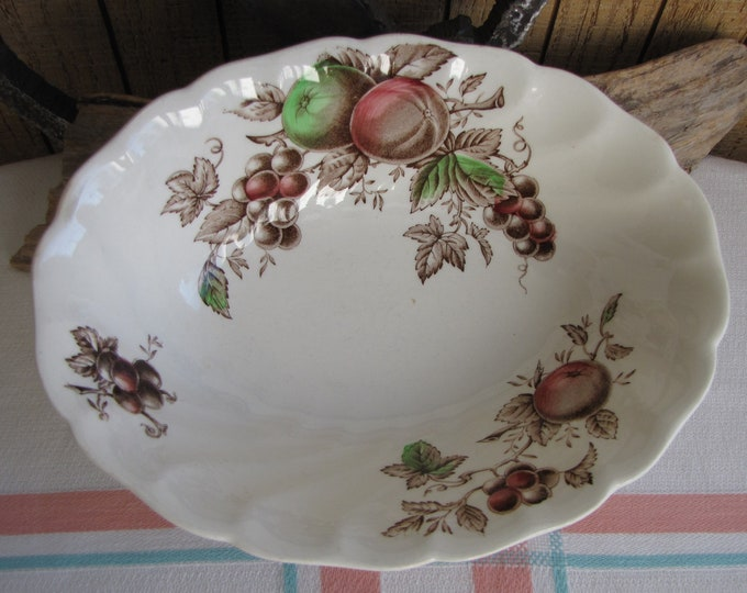 Harvest Time Vegetable Bowl Johnson Bros. 1967 – 1978 Vintage Dinnerware and Replacements