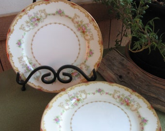 Noritake Salad Plate Vintage Dinnerware and Replacements Seven (7) Plates  circa 1930s