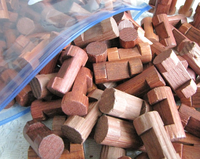 Lincoln Logs Wooden Building Logs Vintage Toys and Single Notched