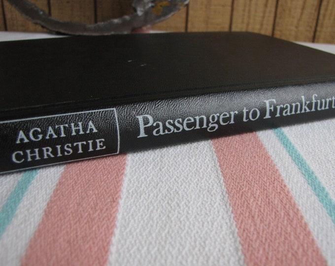 Agatha Christie's Passenger to Frankfurt 1st Edition Near Fine Vintage Books Fiction and Mysteries