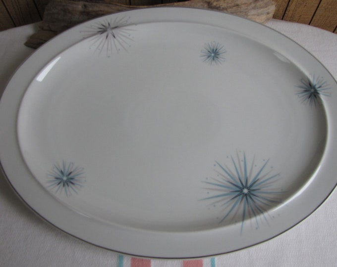 Easterling Celestial dinner platter 1950s Vintage dinnerware and replacements