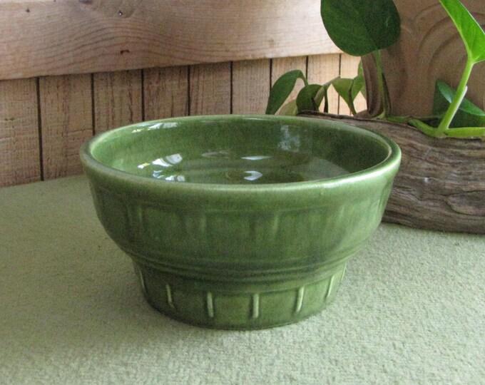Haeger Pottery Green Planter Vintage Planters