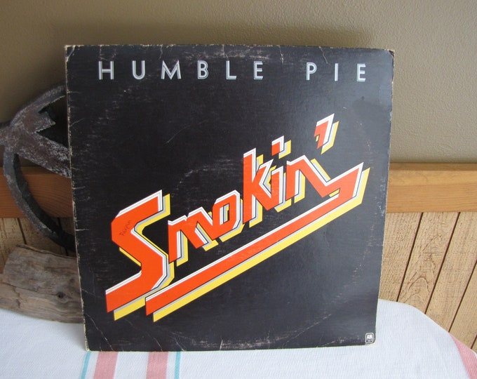 Humble Pie Smokin' Album Vintage Music and Vinyl Record