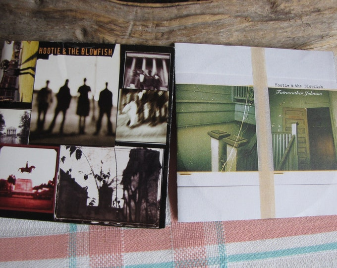 Hootie and the Blowfish 2 CDs Vintage Music and Compact Discs 1990s