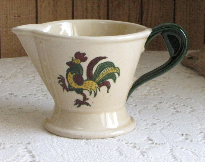 California Provincial Cream Pitcher Metlox PoppyTrail Vintage Dinnerware and Replacements California Pottery 1956 to 1982