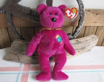 Ty Beanie Millennium Bear Vintage Toys and Stuffed Animals