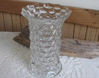 Fostoria American Flower Vase Vintage Dinnerware and Replacements Florist Ware
