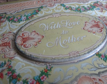 Vintage Chest Tin with Love to Mother
