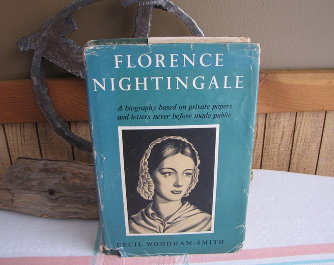 Florence Nightingale Cecil Woodham-Smith 1951 1st Edition Vintage Books and Biographies