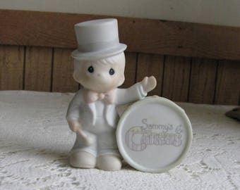 Precious Moments Collin from Sammy's Circus Figurine Trumpet 1994 Symbol Retired