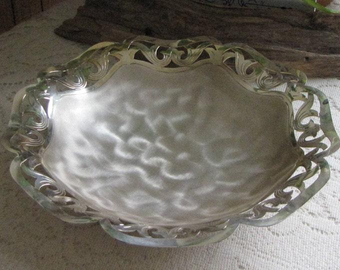 Vintage IKORA Silver Plated Bowl Enamel Tortoise Shell 1927-1949 WMF