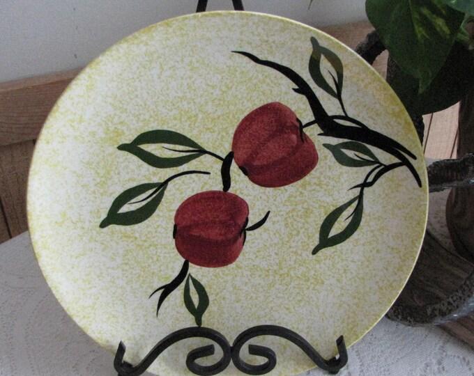Southern Pottery Blue Ridge Apple Jack Pattern Vintage Farmhouse and Rustic Home Décor