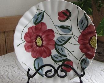 Southern Pottery Blue Ridge plate Becky