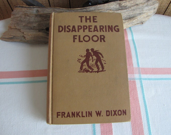 The Disappearing Floor Hardy Boys 1st Edition 1940 Franklin W. Dixon Vintage Books and Literature