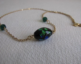 Sara Coventry Blue Beaded Necklace Vintage Jewelry and Accessories
