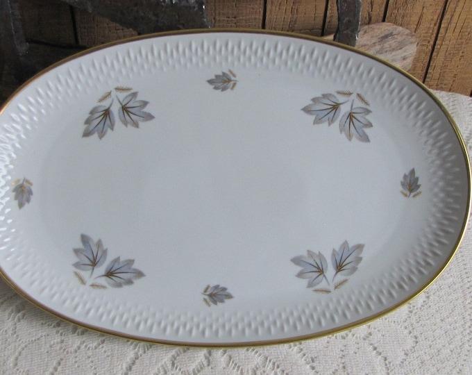 Edelstein platter Coronado Autumn Leaves Pattern Vintage Dinnerware and Replacements