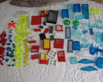 Legos Specialty Bricks Doors, Windshields, Clear Parts and Specialty Bricks Vintage Toys and Building Blocks