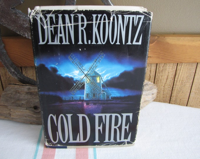 Cold Fire Dean Koontz 1st Edition 1991 Vintage Fiction and Literature