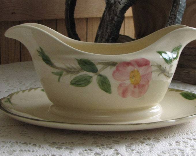 Franciscan Desert Rose gravy boat 1963-1970 Vintage Dinnerware and Accessories